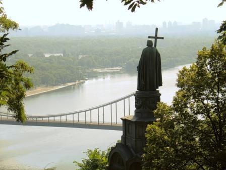 В «Украинском доме» показали фильм о Крещении Руси