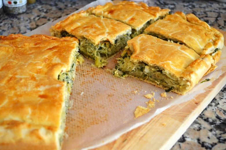 Бабушкин пирог с капустой - два способа приготовления
