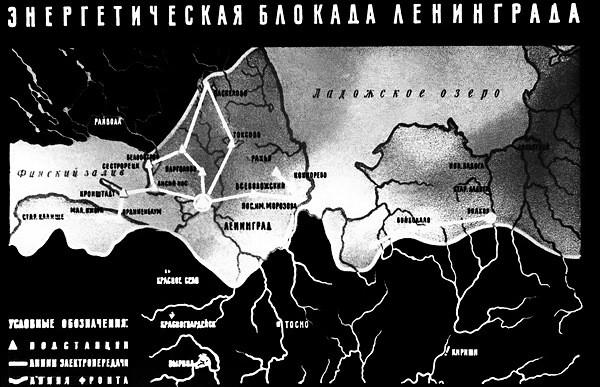 Энергетическая блокада Ленинграда
