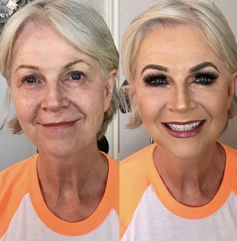 10 преображений после макияжа, которым позавидуют даже пластические хирурги