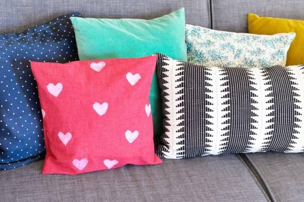 Как сшить красивую подушку своими руками 40