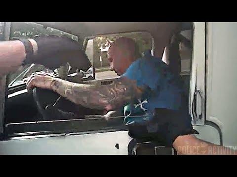 Полицейский случайно ударил шокером напарника во задержания нарушителя