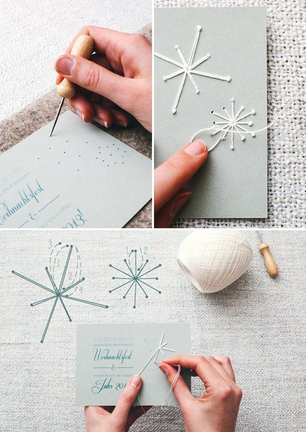 25 славных новогодних открыток, которые очень просто сделать самостоятельно