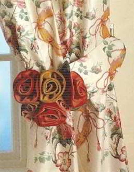 роза из ткани мастер класс