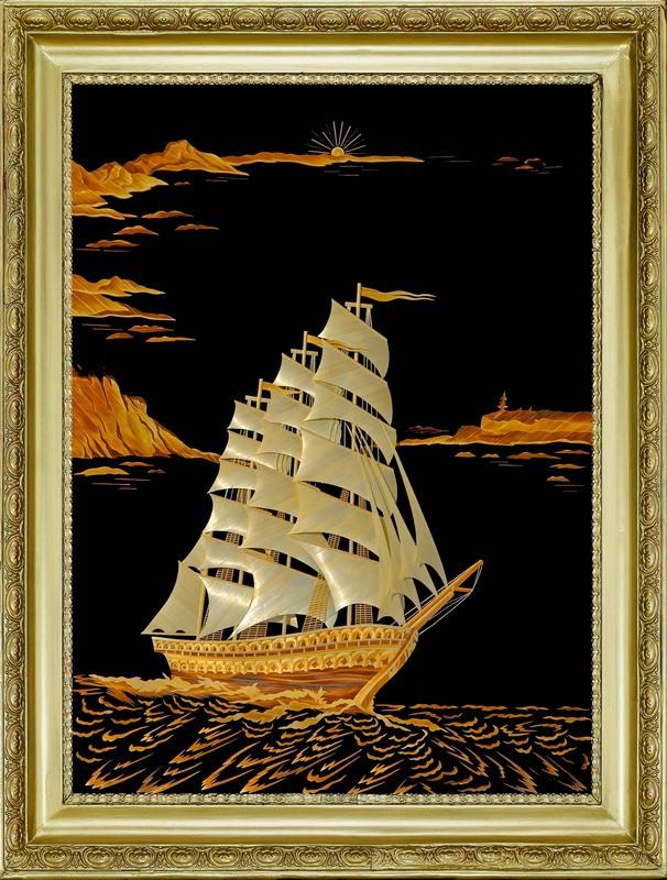 Картины с кораблями своими руками