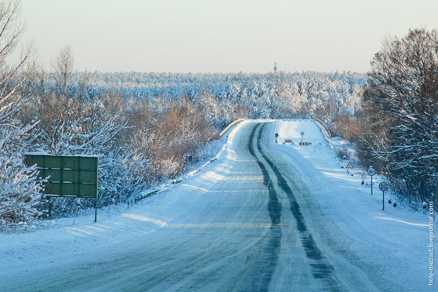 411 Зимний Чернобыль