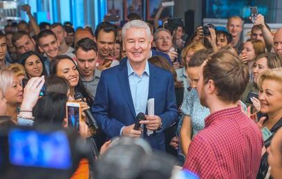 Мосгоризбирком официально назвал Собянина победителем выборов мэра Москвы