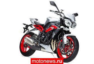 Новый мотоцикл Triumph Street Triple RX