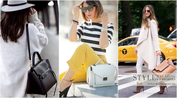 Деловой портфель — идеальная сумка для элегантных образов на осень!
