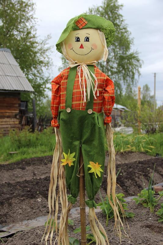 огородное пугало ( чучело) своими руками Original