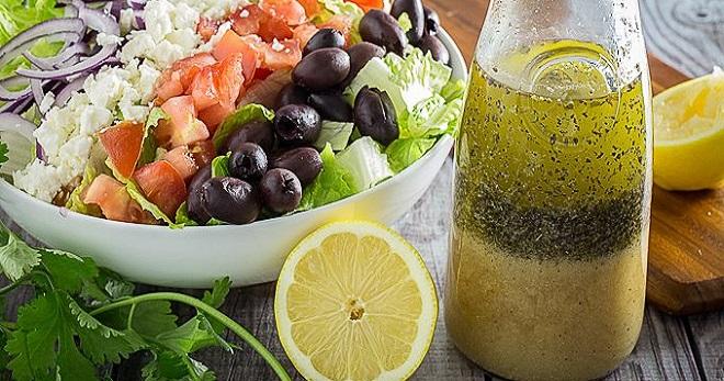 Рецепты заправки для греческого салата