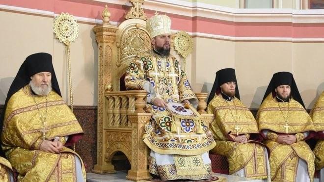 «Собор» в Киеве: названо имя нового главы так называемой украинской церкви