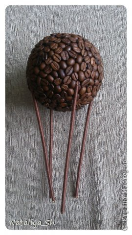 Мастер-класс Поделка изделие Моделирование конструирование Воздушный кофе-шар МК Кофе Шпагат фото 15