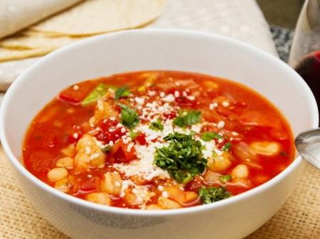 фото к рецепту мексиканского супа