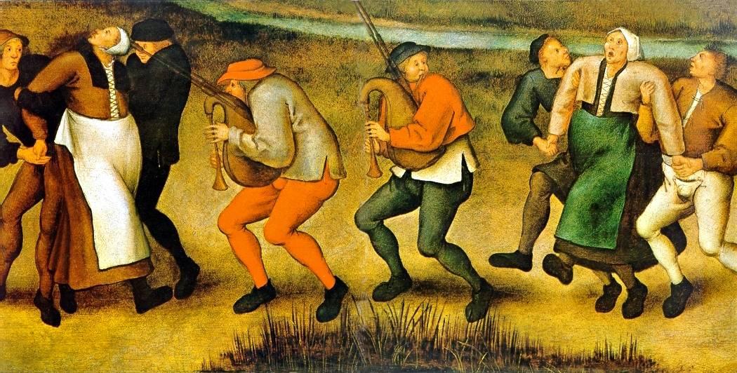 Танцующая чума в Средневековье. Неизвестная болезнь заставляла людей танцевать до смерти