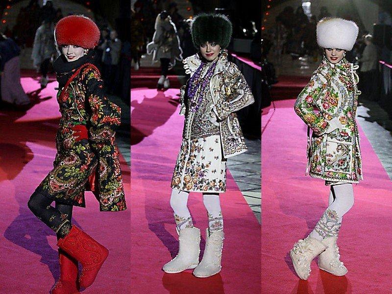 Модный стиль «а-ля рюс»