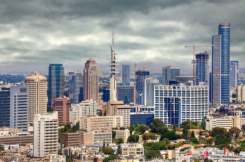 Похоже на современный мегаполис США. Но это высокотехнологичный Тель-Авив. Израиль, красиво, красивые места, природа, страны, страны мира, фото, фотограф