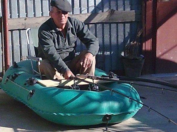 сделать сиденье в резиновой лодке