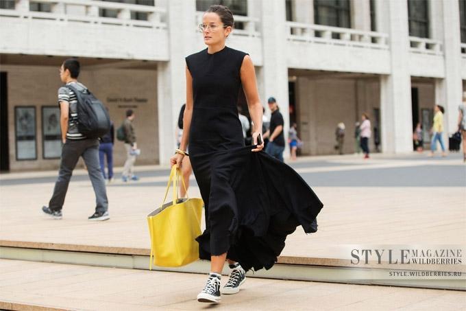 Минималистичное макси-платье — тренд лета