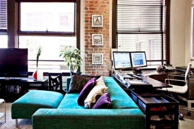 Полноценный офис за диваном реальная затея