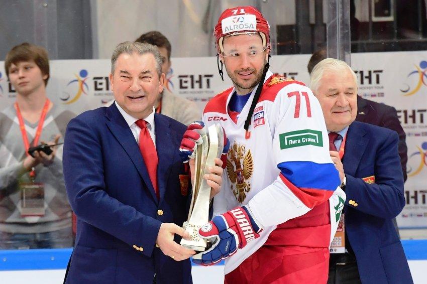 Владислав Третьяк переизбран на пост президента ФХР