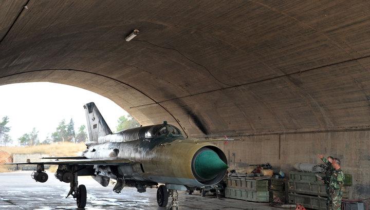По базе ВВС Сирии в Хомсе нанесен ракетный удар