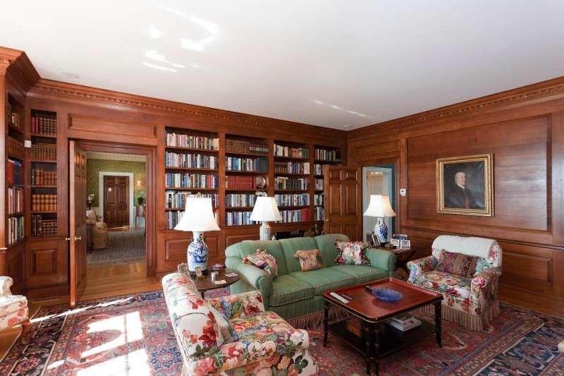 ... и собственную библиотеку с дубовыми панелями Каулбек, в мире, красота, остров, природа
