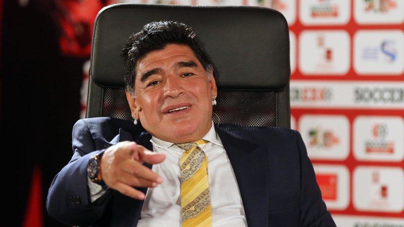 Марадона может возглавить брестское «Динамо»