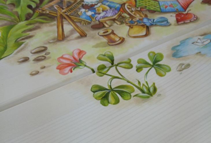 детская мебель с экологичными красками на водной основе
