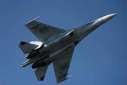 Российский Су-27 отогнал истребитель НАТО от самолета Шойгу