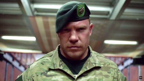 Русский берсерк или как молодой боец из ВДВ, вышел на маты со здоровым «зеленым беретом США».