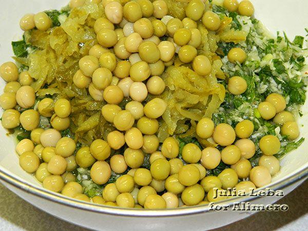 Зимний овощной салат