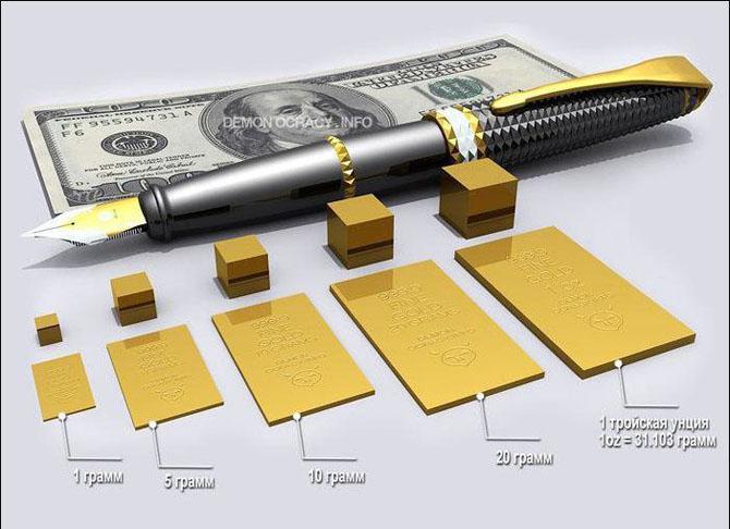 Как выглядит все золото мира