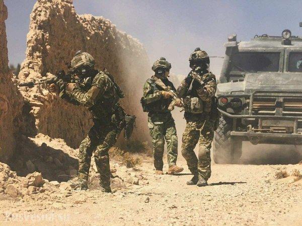 «Cпецназ из СССР» уничтожил отряд террористов у Пальмиры