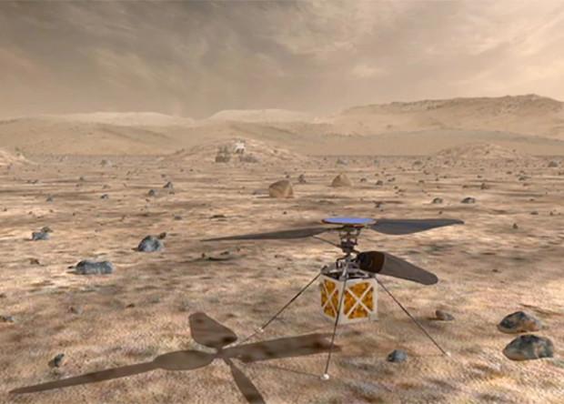 Американцы собрали прототип марсианского вертолета