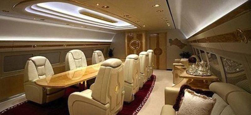 privatejets07 Роскошные частные самолеты сильных мира сего
