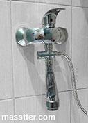 Установка смесителя в ванну