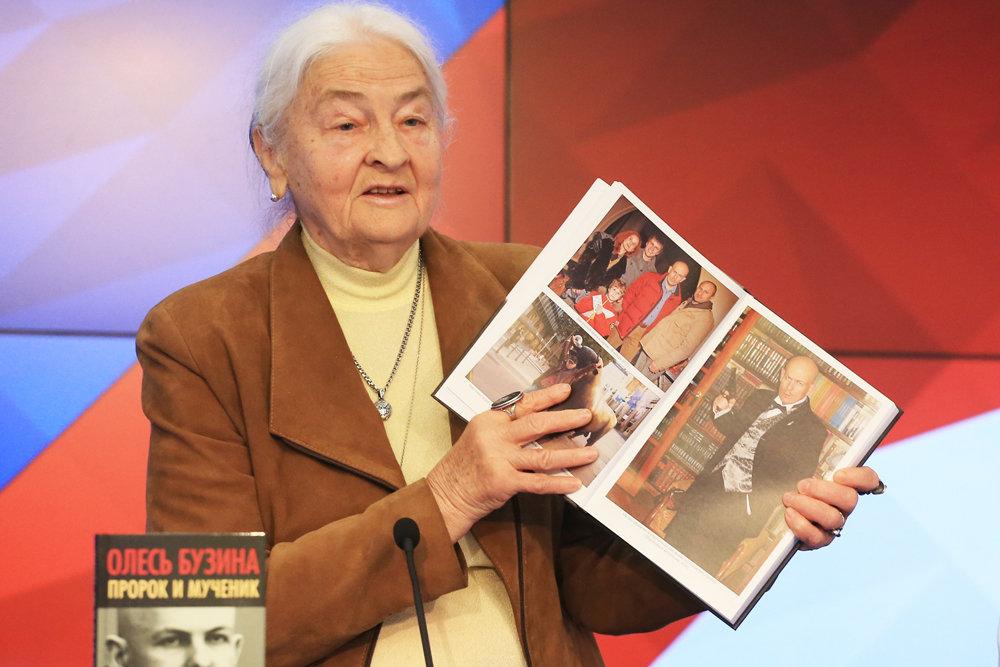 В Москве представили книгу об убитом на Украине Олесе Бузине