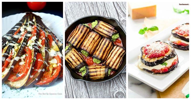 Вкуснятина из баклажанов с помидором и сыром: классика в новых 10 формах