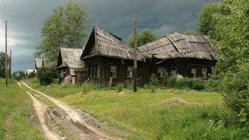 Количество обезлюдевших сёл и деревень по регионам России.