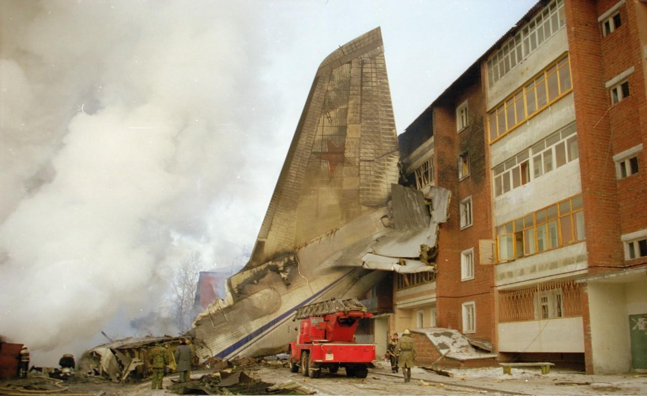 Катастрофа Ан-124 в Иркутске 6 декабря 1997 года