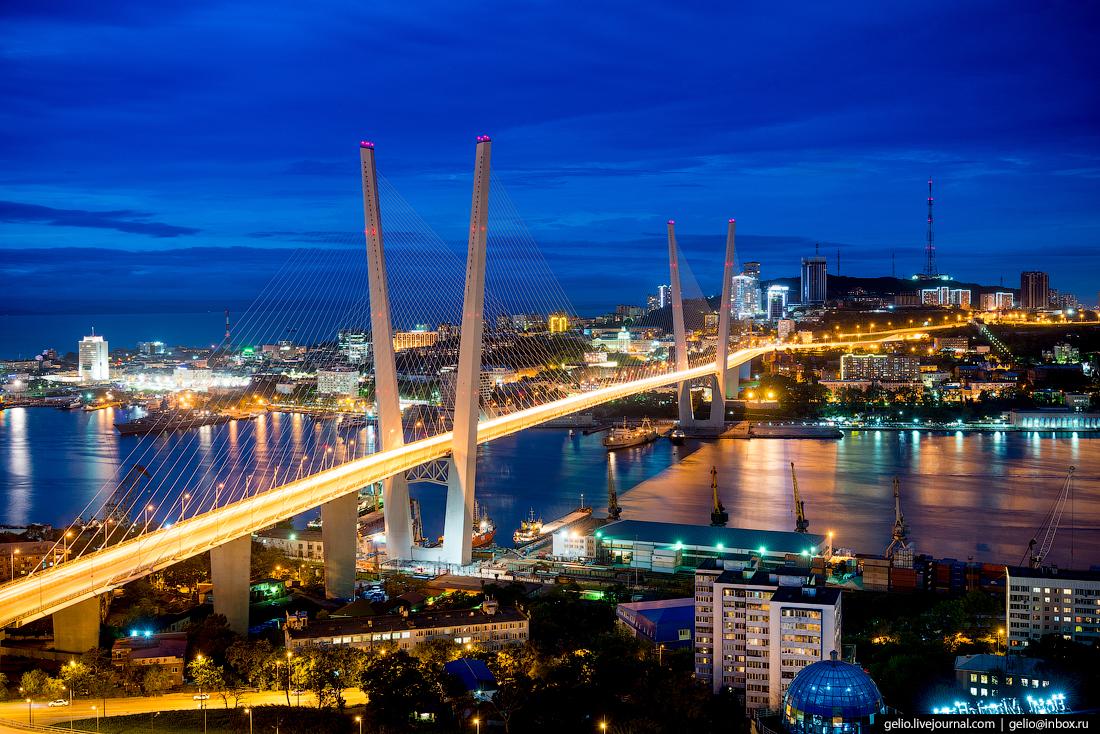 Владивосток с высоты. Город …