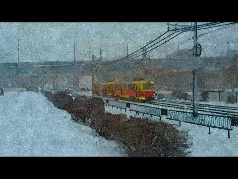 Зима в Волгограде