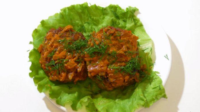 Вкуснейшие котлеты из кабачков и мясного фарша