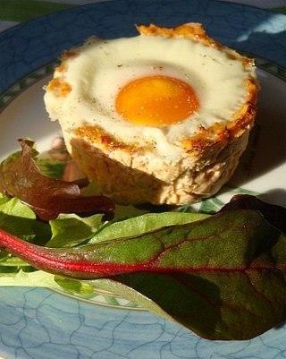 Куриные котлеты с яйцом