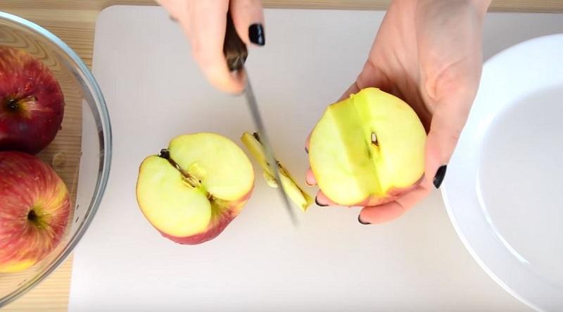 яблочное пюре без сахара
