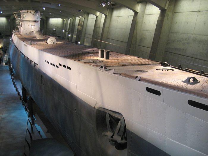немецкие подводные лодки в южной америке