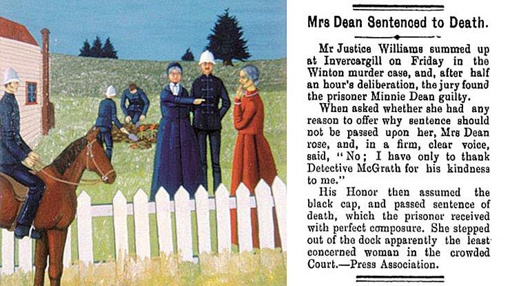 Единственная из женщин, которую казнили в Новой Зеландии