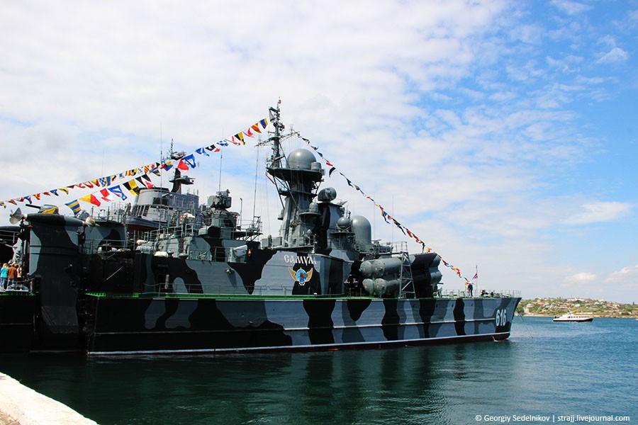 Моряки ЧФ России показали чем нас защищают