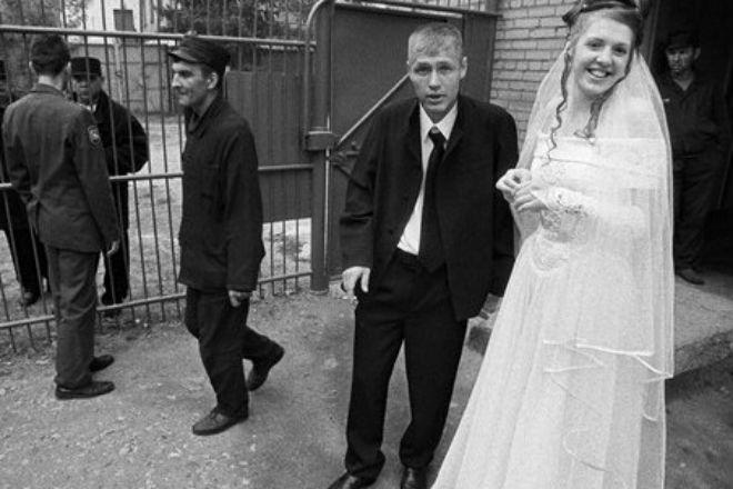 Как проходит свадьба в тюрьме
